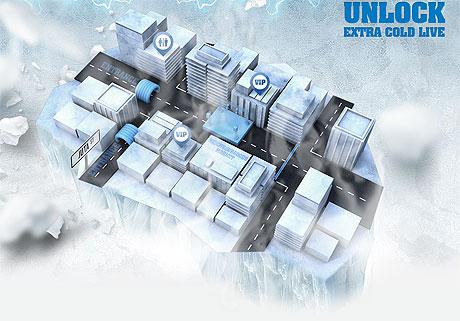 Castle Lite Unlock Extra Cold Live