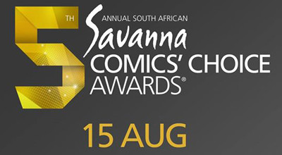 The 5th Annual SA Savanna Comics' Choice Awards