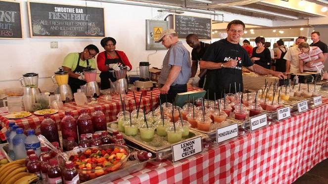 Neighbourgoods market joburg for African cuisine braamfontein