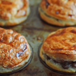Steak, Stout and Exotic Mushroom Pies