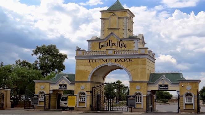 theme park entrance