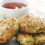 Thai Fish Cakes with Coriander Lime Dressing