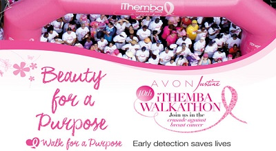 Walk For A Purpose At The 10th Annual Avon Justine iThemba Walkathon