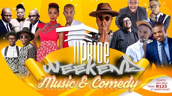 Pride Weekend Music & Comedy 2016
