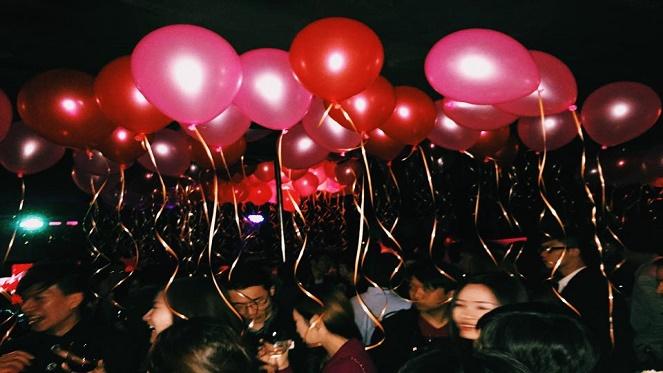 Outdoor Pop-Up Singles Valentine's Party