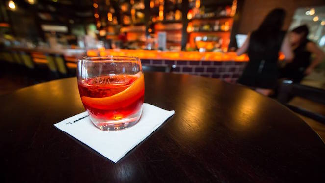 the landmark bar
