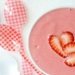 Strawberries & Cream Smoothie Bowl