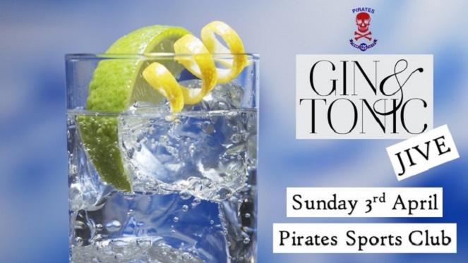 Pirates Gin & Tonic Jive
