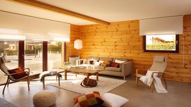 homey living room