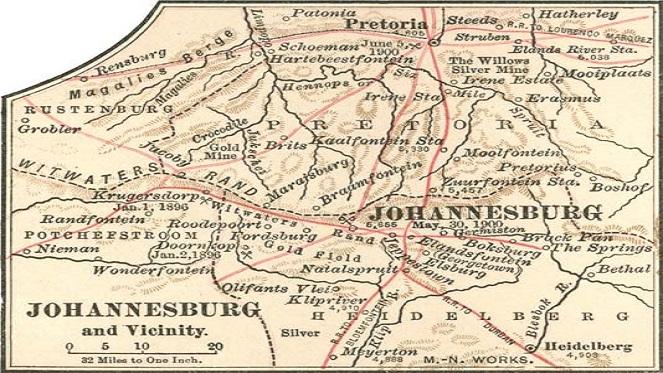 old joburg 663