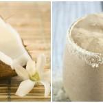 Creamy Strawberry, Vanilla & Coconut Breakfast Smo...