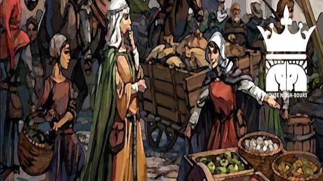 mini medieval market