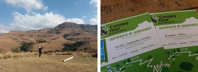 Explore, Slide & Soar On The Drakensberg Canopy Tour