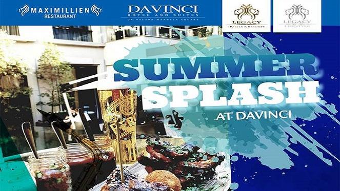 Summer Splash At The DAVINCI
