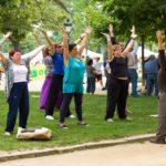 Yoga, Tai Chi At Lakeside Market