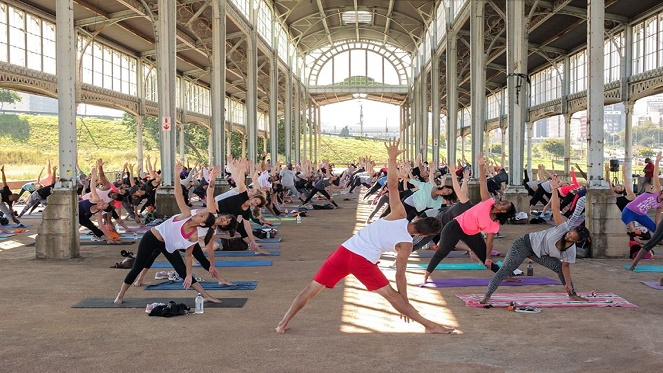 Yoga At The Old Railway Station