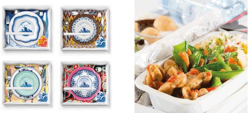 KLM food