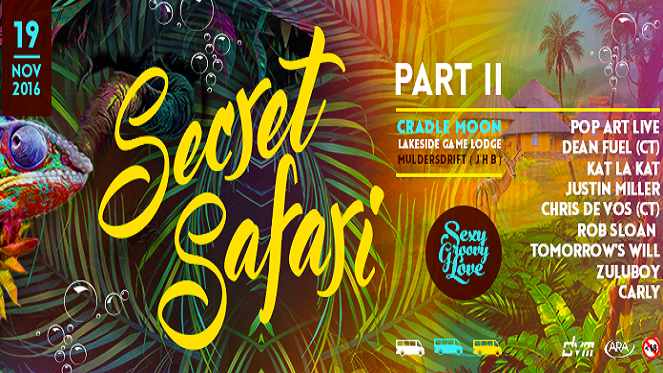 Sexy Groovy Love – The Secret Safari Part II