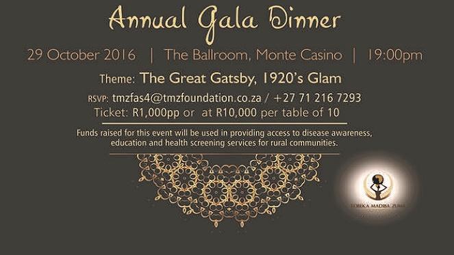 Tmz Annual Gala Dinner Joburg