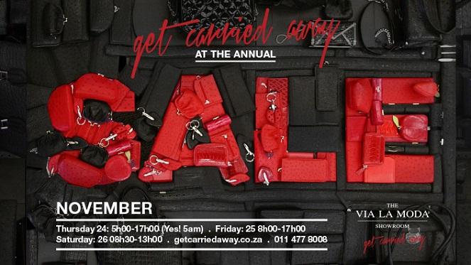 The Via La Moda Showroom Sale Is Back… This November!