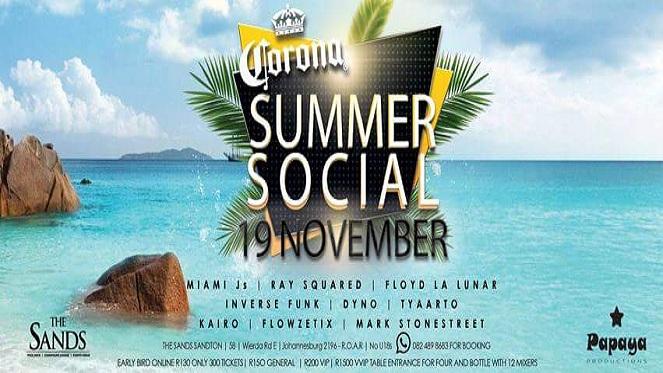Corona Summer Social
