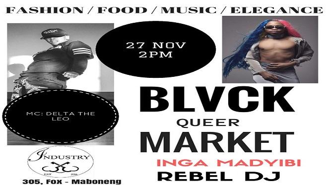 BLVCK QUEER Market JOZI