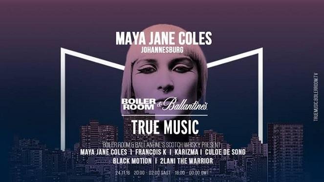 Maya Jane Coles at Boiler Room