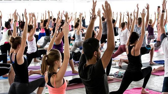 Yoga At Joburg Park Station