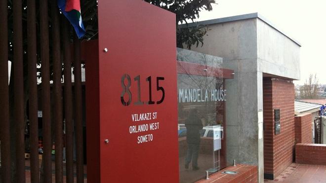 mandela house