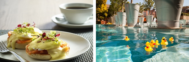 African Pride Melrose Arch Hotel Breakfast and Pool