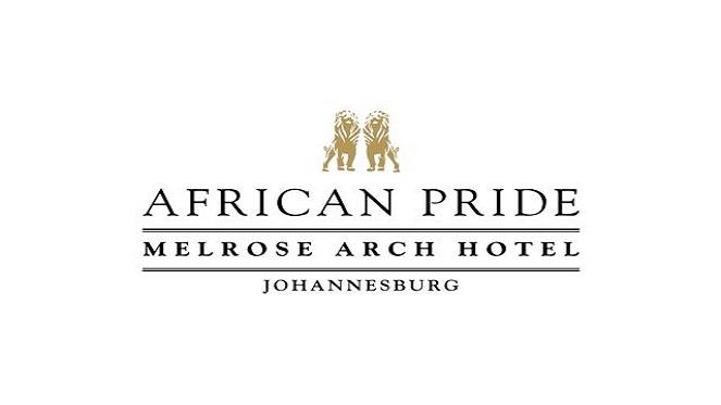 African Pride Melrose Arch Hotel Logo Full