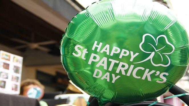 St Patrick's Day At Sylvia's Market