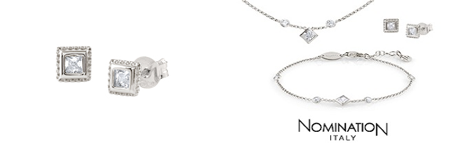 Nomination Bella Brilliant edition: We're giving away a silver Bella necklace, set of earrings and a bracelet to one lucky reader!