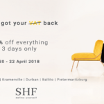 SHF Has Got Your VAT This Weekend