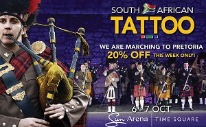 The South African Tattoo Is Back!