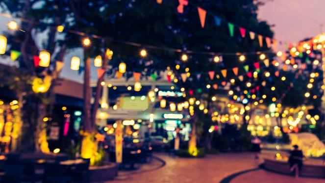The Winter Night Market