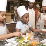 Kids' Cooking Camp At The Discovery Vitality Healt...