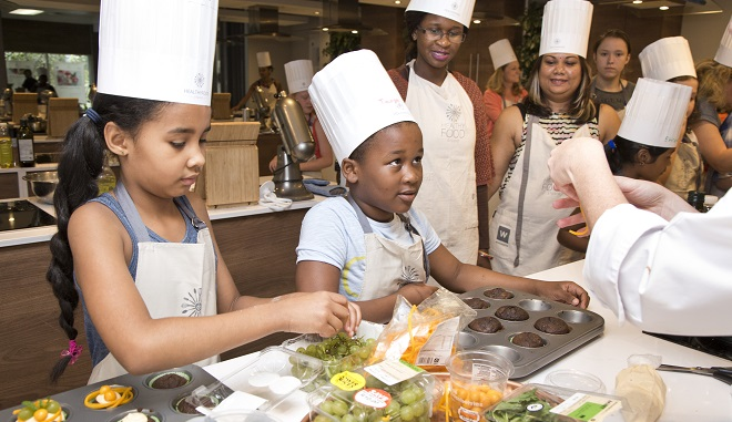 Kids' Cooking Camp At The Discovery Vitality HealthyFood Studio