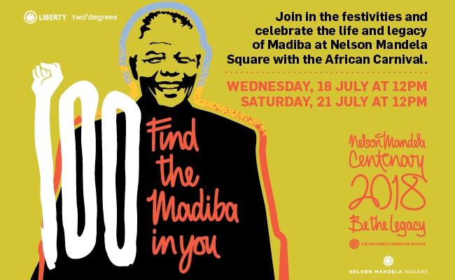 Mandela Day Centenary Celebrations 2018