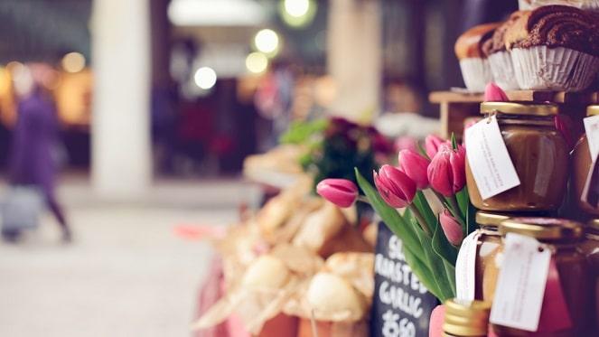Spring Day Carnival At Sylvia's Market