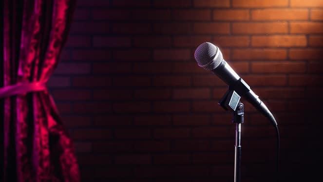 Nik Rabinowitz In Dry White Comedy Show