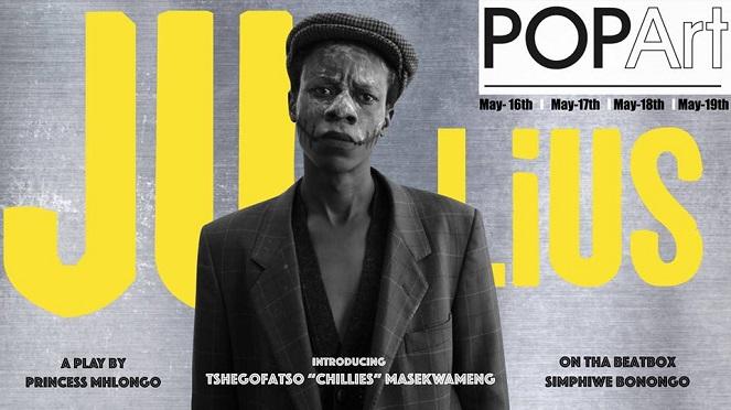 Ju-Lius – The Hustling, Busking Jozi Boy At POPArt Theatre