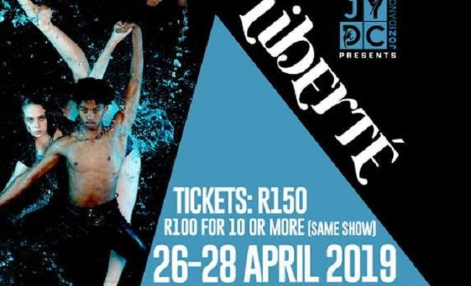 Jozi Youth Dance Present Liberte At Roodepoort Theatre